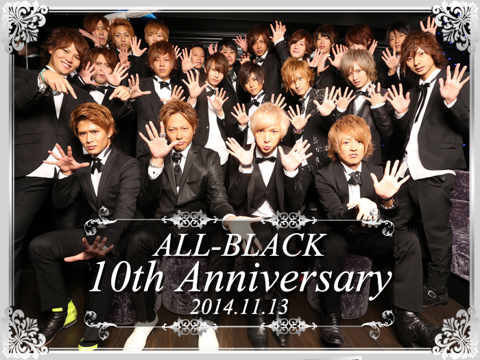ALL-BLACK 10th Anniversary