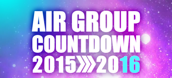 AIR GROUP COUNTDOWN 2015>2016