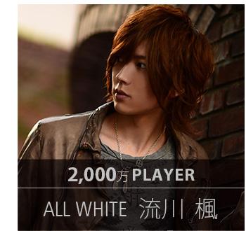 2,000万プレイヤー ALL WHITE 流川 楓