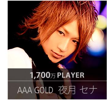 1,700万プレイヤー AAA GOLD 夜月 セナ