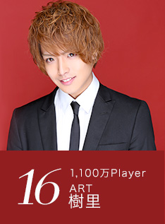 16位 1,100万Player ART 樹里