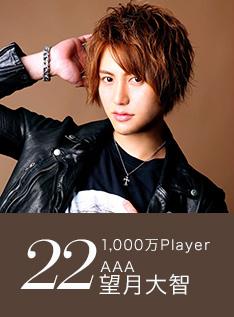 22位 1,000万Player AAA 望月大智