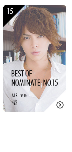 BEST OF NOMINATE No.15 AIR 主任 椿はこちら