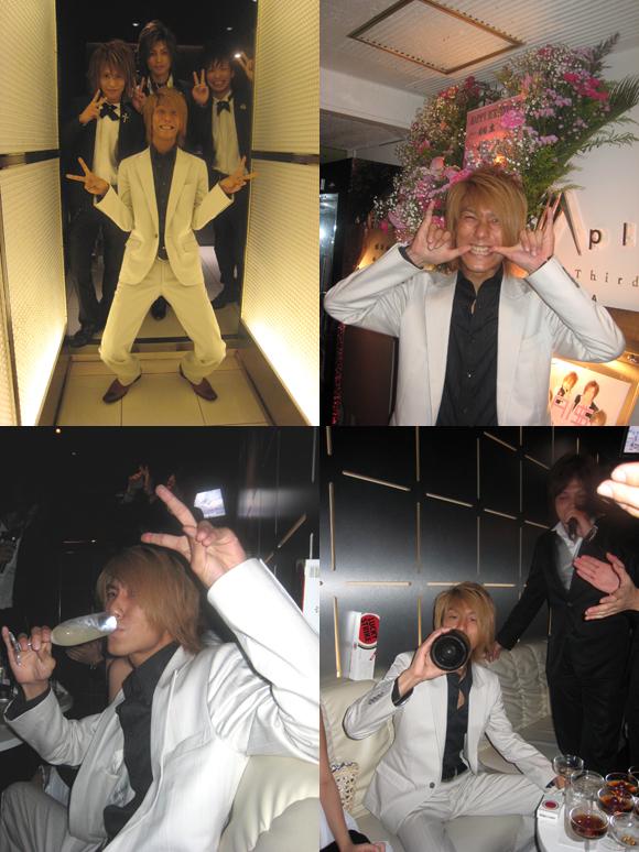 歌舞伎町のメンズクラブAI$で、桐生聡のバースデーが行われました!