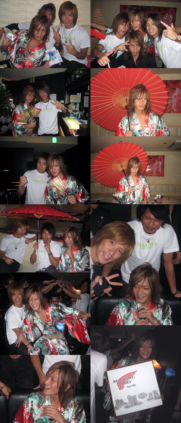 歌舞伎町のホストクラブ、エアーグループの本店ClubAIRのモデル兼ホストの祐之介がバースデーを行いました。
