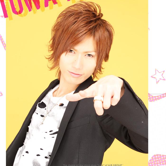 歌舞伎町のホストクラブ、AIR-GROUP AAAのホスト、神風 永遠幹部補佐グラビア!!