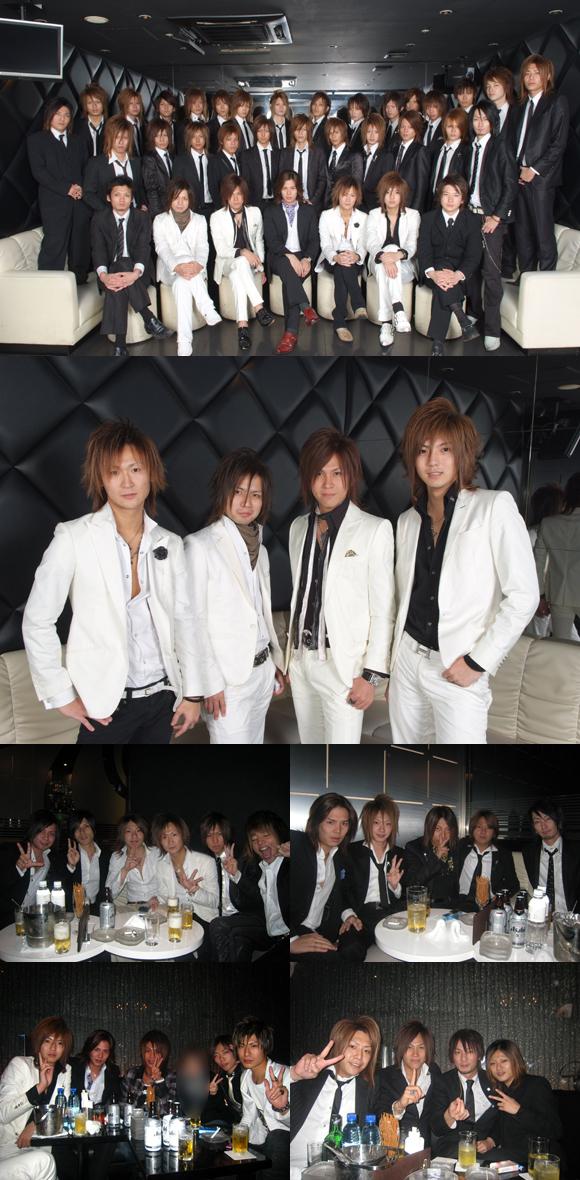 歌舞伎町のホストクラブ、エアーグループの3号店、AAAが1周年を迎えました。沢山の御同業の方にお祝いいただきました。