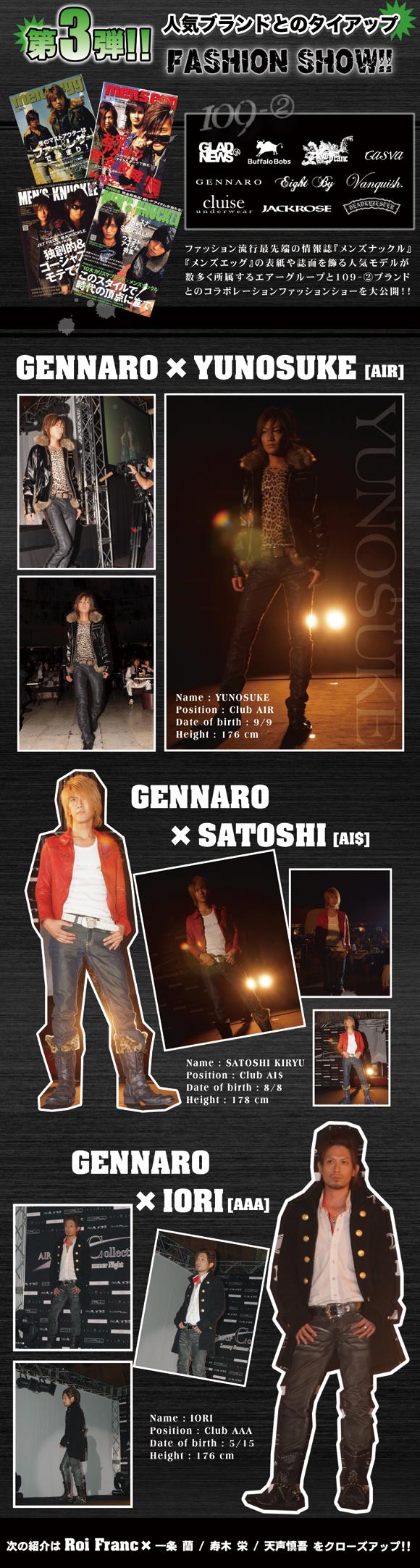 歌舞伎町のホストクラブ、エアーグループが2007年8月12日に行った、AIRGROUPCollectionのダイジェスト第3弾