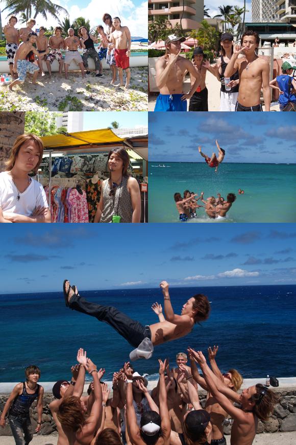 歌舞伎町のホストクラブ、CLUBALLのハワイ旅行の模様をお届けします♪