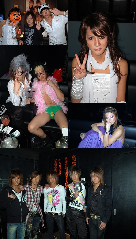 歌舞伎町のホストクラブエアーグループの2号店、ALLでハロウィンパーティが行われました。