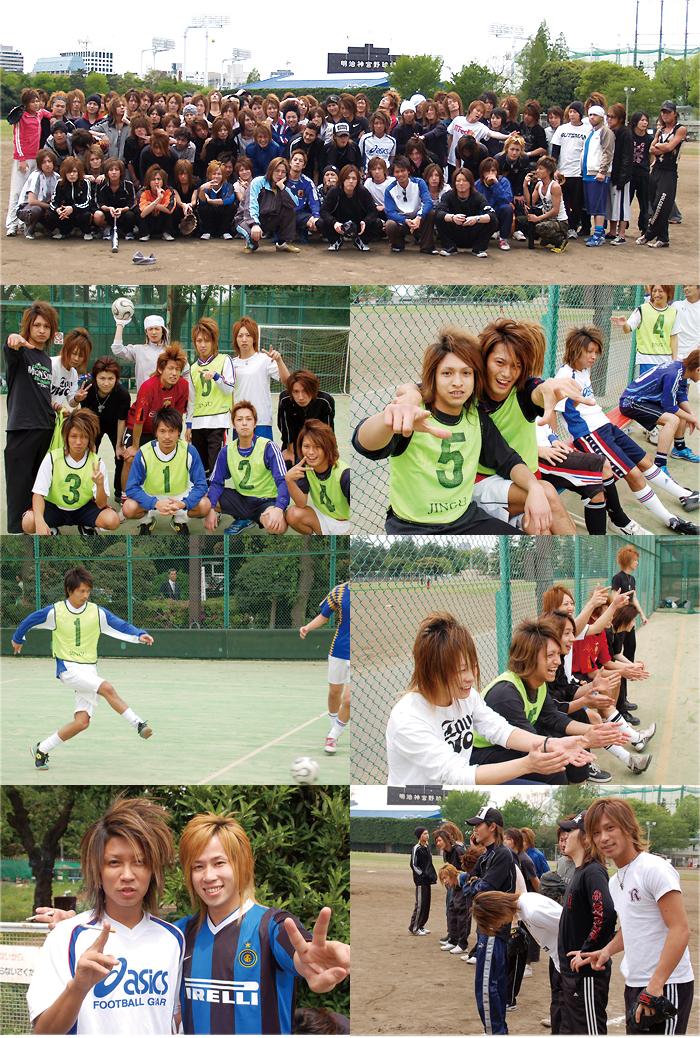 歌舞伎町ホストクラブエアーグループで店舗対抗球技大会が行われました。