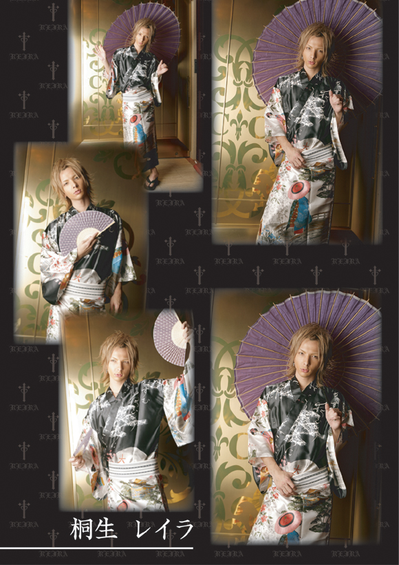 歌舞伎町のホストクラブ、エアーグループからCDデビューを果たしたA・G・Eのスペシャルグラビア第2弾☆