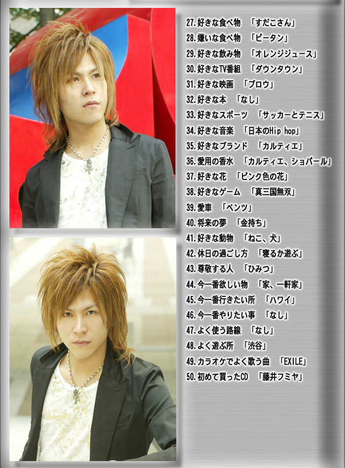 歌舞伎町のホストクラブ、エアーグループの3号店、AAAの水城和也支配人のスペシャルプロフィールです。