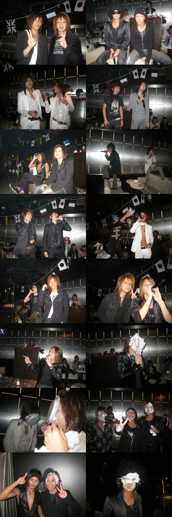 歌舞伎町のホストクラブ、エアーグループの3号店、AAAでカラオケ大会が行われました!
