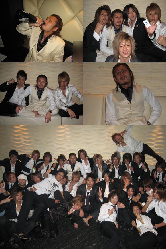 歌舞伎町のホストクラブの本店、AIRで神崎聖也主任の誕生祭が行われました。ポスターは直筆!